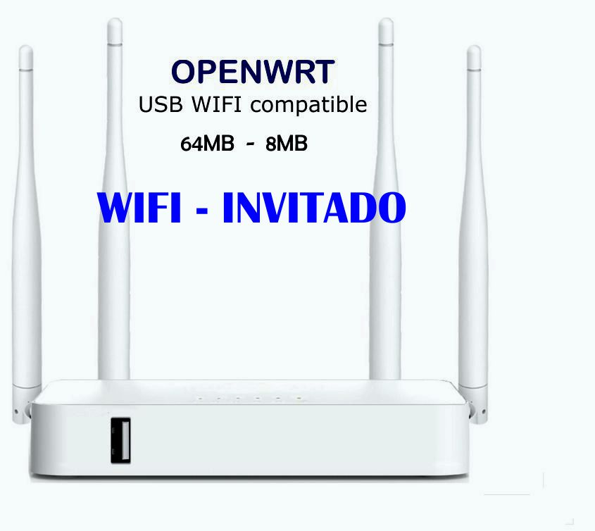 How to share your WiFi home network with your friends safely.