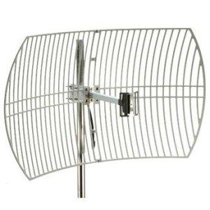 Los cuatro tipos de antenas WiFi direccionales y el alcance máximo de la señal WiFi.