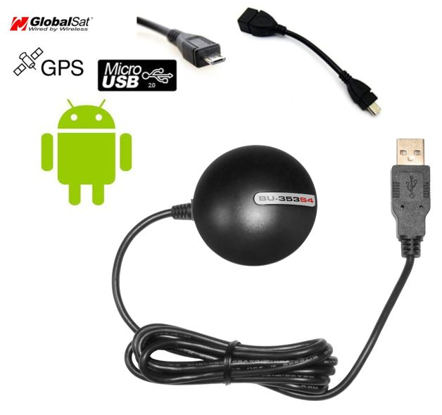 Instalação de um GPS USB externo com dispositivos Windows ou tablet Android