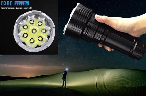 Mejores Linternas LED Potentes > grandes, pequeñas, para bici y frontales.
