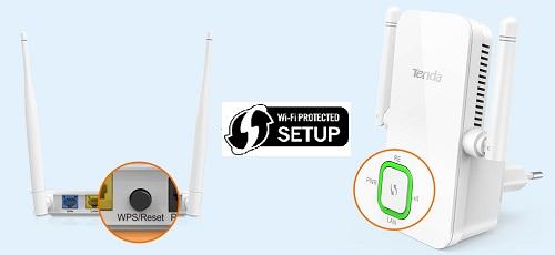 WiFi WPS en el router para configuración rápida y segura