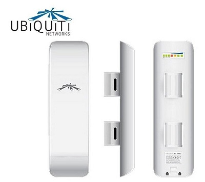 Enlaces WiFi de larga distancia con antenas Ubiquiti Nanostation M2 y LocoM2