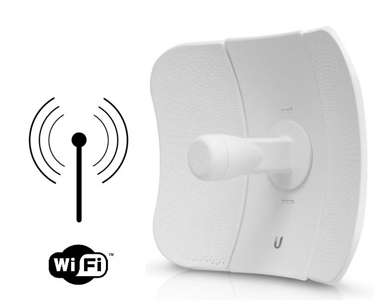 Antenas WIFI para longa distância, variando de 100 metros a 30 km