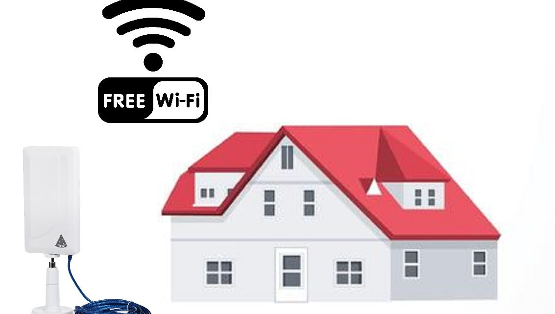 Free WiFi, how to connect your home free with WiFi