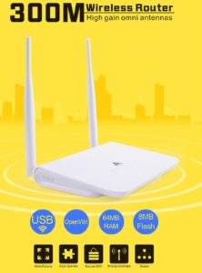 ▷ R658 Melon Router designed to connect external WiFi