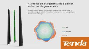 Tenda 4G630 - 3G 4G - WIFI 300Mb Router con puerto USB repetidor