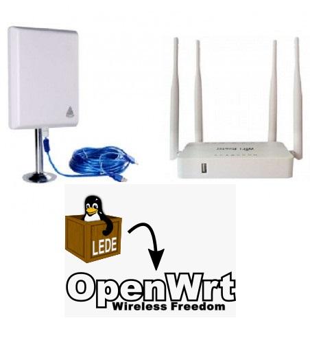 Clonar MAC en router OpenWRT LEDE para saltar portal cautivo o límite de usuarios