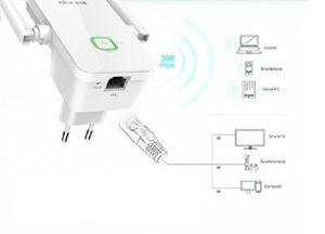 Repetidor de WIFI Tenda A301 300Mbps Universal Extensor rango