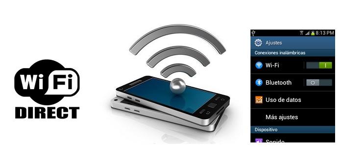 Compartir archivos por Wi-Fi Direct entre móviles Android, TV, impresoras y PC