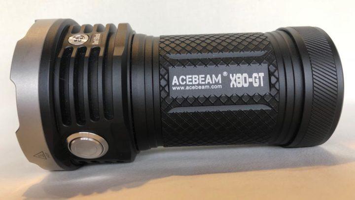 El secreto de la fotografía nocturna, cómo poner un trípode a la linterna ACEBEAM X80