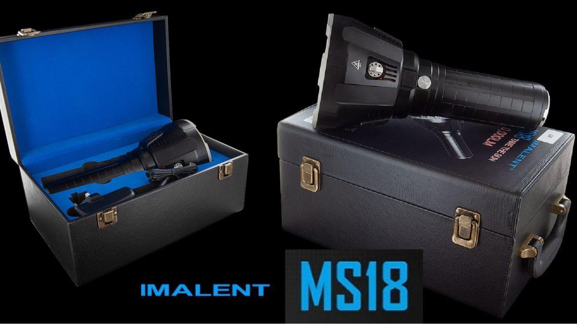 Linterna IMALENT MS18 precio y review