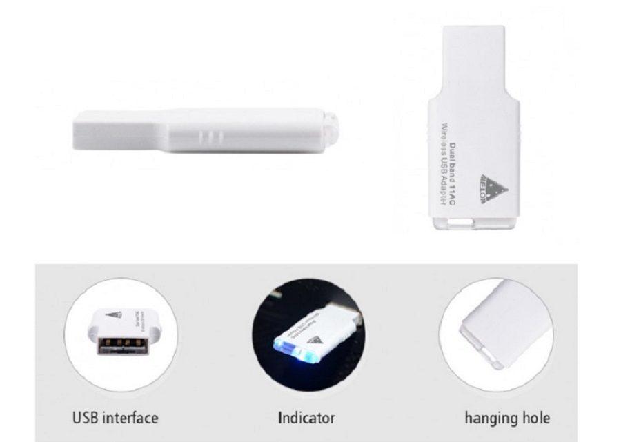 Os 3 Adaptadores USB Wi-Fi 5G melhor qualidade / preço